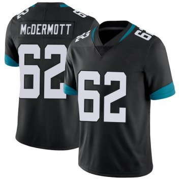 Men's KC McDermott Jacksonville Jaguars Nike Limited Vapor Untouchable Jersey - Black